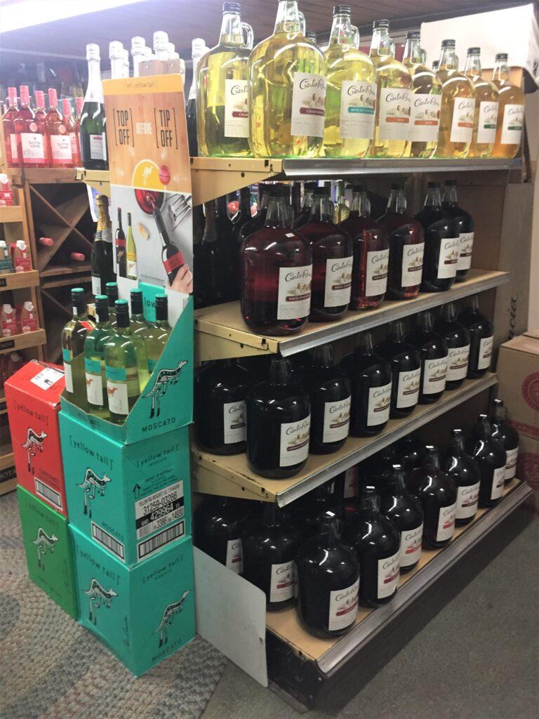 Opens in new window Liquor store